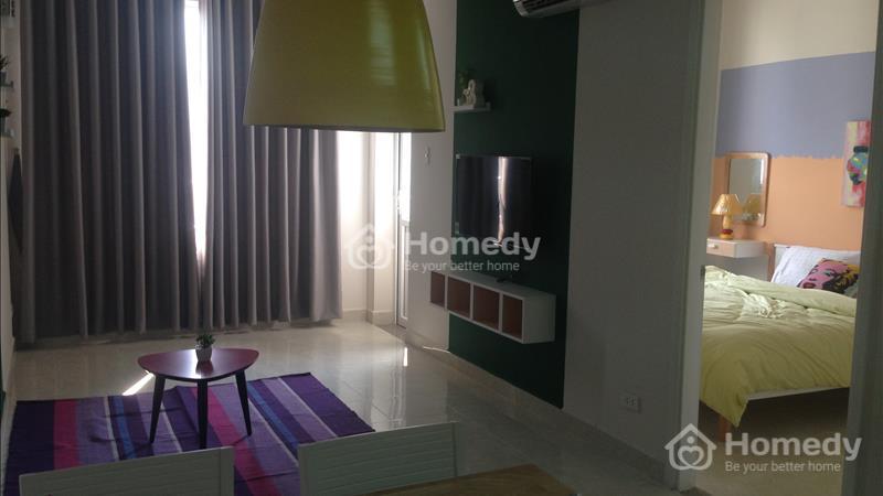 Cho thuê căn hộ Riverside - 90 Nguyễn Hữu Cảnh, Bình Thạnh, giá 12 triệu/tháng  - 4