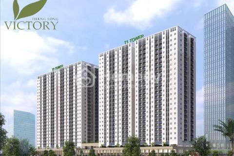 Bán gấp chung cư Thăng Long Victory có diện tích 69,8 m2, giá 13 triệu/m2, nhận nhà ở luôn Tòa T1