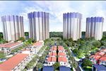 Các khối nhà tạiWest Bay Sky Residence đều cókiến trúc hình chữ V độc đáo khiến phần lớn căn hộtại đâyđềucó tầm nhìn về hồ Aqua Bay, cộng đồng nhà phố thương mại Thuỷ Nguyên và biệt thự Marina Waterfront Residences sôi động, náo nhiệt.