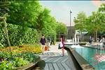Không chỉ thiết kế ấn tượng với vẻ bên ngoài khác biệt, chung cư Gold Season còn là công trình có thiết kế hệ thống cây xanh, khuôn viên diện tích lớn bao quanh dự án, tạo nên sự hài hòa với thiên nhiên.
