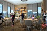 Ngoài ra, các cư dân ham đọc sách sẽ được thỏa mãn niềm đam mê của mình với những người cùng chung sở thích ngay tại tiện ích thư viện của GoldSeason.