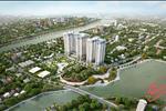 Dự án còn nằm sát cạnh phần mở rộng nhất của rạch Sông Tân, tạo nên môi trường sống thoáng mát và trong lành cho cư dân nơi đây.