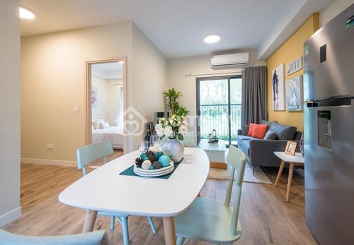 West Bay Sky Residences gồm 5 loại căn hộ có từ một đến ba phòng ngủ, diện tích 45-65m2 rất phù hợp làm chốn an cư cho các khách hàng là những gia đình trẻ.