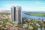 Chung cư UDIC Riverside - 122 Vĩnh Tuy có tầm view ra hướng sông Hồng, tạo môi trường sống hết sức trong lành cho cư dân tòa nhà.