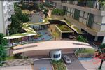 Chủ nhân căn hộ có thể tận hưởng phong cách sống đẳng cấp với hàng loạt những tiện nghi như: Phòng tập thể dục, vườn trên cao, đường tản bộ dài 400 m, sân Tennis, hồ bơi dài 50 m và cả dòng sông lười.