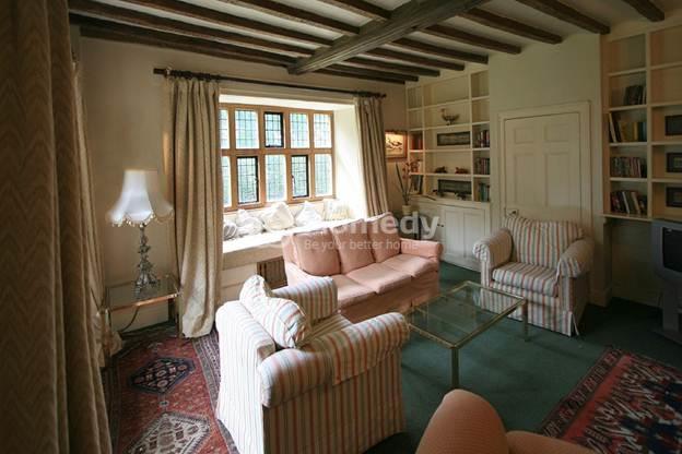 Phòng khách theo phong cách đồng quê