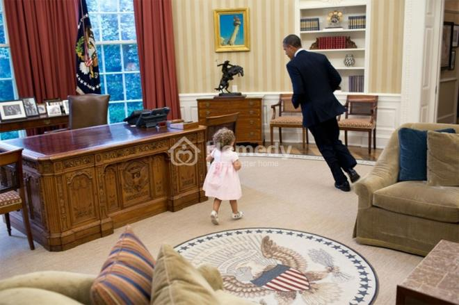 Bên trong nơi ở của gia đình ông Obama