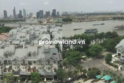Bán căn hộ cao cấp Saigon Pearl, DT 100 m2, tầng thấp, 3PN view sông và Quận 1 tuyệt đẹp