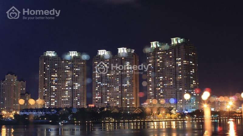 Bán căn Penthouse tại Saigon Pearl tháp Ruby, DT 216 m2 view sông Sài Gòn - 1