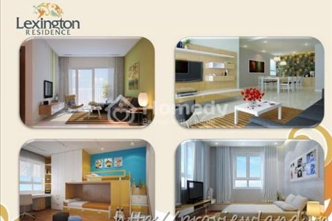 Bán căn hộ Lexington Residence tầng cao view hồ bơi diện tích 82 m2, 2 phòng ngủ giá tốt