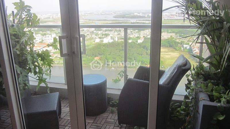 Bán căn Penthouse tại Saigon Pearl tháp Ruby, DT 216 m2 view sông Sài Gòn - 2