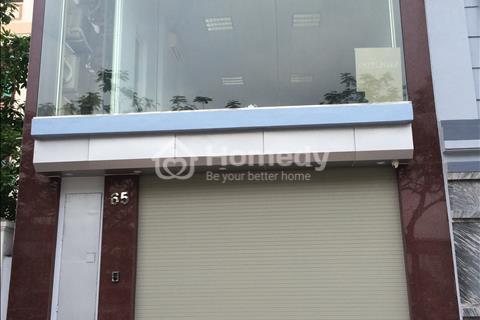 Cho thuê nhà làm văn phòng ở Trung Yên, 80 m2 x 5 tầng, thông sàn