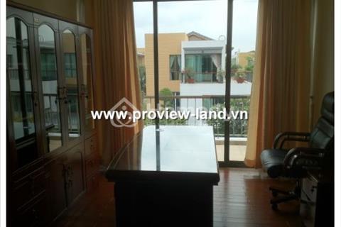 Biệt thự ven sông Villa Riviera 320m2 5 phòng ngủ tặng bộ nội thất đầy đủ sang trọng