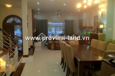 Cho thuê biệt thự 4 phòng ngủ Saigon Pearl Nguyễn Hữu Cảnh Quận Bình Thạnh
