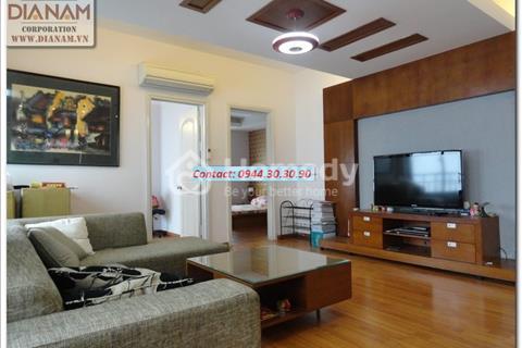 Cho thuê căn hộ Golden Palace Mễ Trì, 3 phòng ngủ, đủ đồ