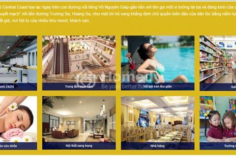 Sự quyến rũ của căn hộ 5 sao Central Coast view biển Đà Nẵng vị trí ngàn vàng giá chỉ từ 25tr/m2