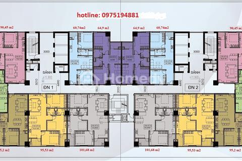 Chính chủ căn 5 tầng 15 chung cư Thăng Long Victory, giá 15 triệu/m2, cần bán gấp
