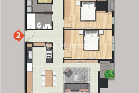 Cho thuê căn hộ cao cấp với 3 phòng ngủ Pearl Plaza Quận Bình Thạnh