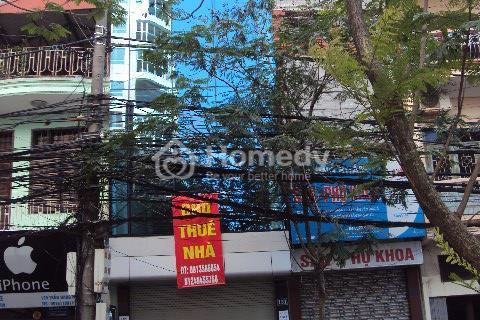 Cho thuê nhà ngõ Nguyễn Chánh, 80 m2, 4 tầng, sàn thông