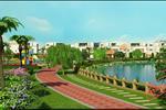 Không chỉ thuận lợi về giao thông, dự án còn hội đủ các yếu tố của một khu đô thị xanh qua những con đường nội khu sạch đẹp và đẳng cấp.