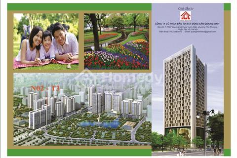 Bán căn hộ chung cư NO2T3 Ngoại Giao Đoàn, diện tích 101 m2, giá 27 triệu/m2