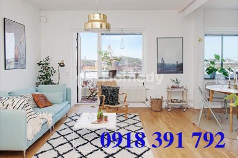 Cho thuê căn hộ Đất Phương Nam tại Quận Bình Thạnh, sàn gỗ đầy đủ tiện nghi, nội thất cao cấp
