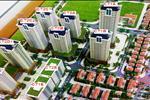 Phối cảnh tổng thể 8 tòa chung cư của dự án VOV Mễ Trì