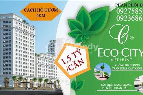 Chỉ với 450 triệu sở hữu ngay căn hộ EcoCity đẳng cấp nhất Long Biên.