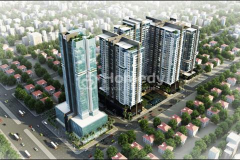 Cho thuê chung cư Golden Land Tòa C, diện tích 128 m2, 3 phòng ngủ. Giá 15triệu/ tháng, đồ cơ bản
