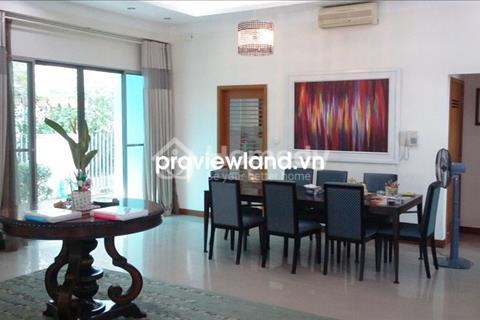 Cho thuê biệt thự Riviera An Phú Quận 2 300 m2, 5 PN đầy đủ nội thất có sân vườn