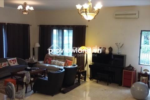 Cho thuê biệt thự Riviera An Phú 400 m2, 5 PN có sân vườn đầy đủ nội thất tiện nghi