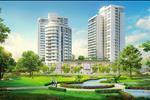 Mảng xanh phủ hơn 50% diện tích tại Riverpark Premier tạo không gian thoáng mát và trong lành cho cư dân sinh sống tại đây.