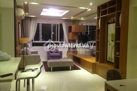 Cho thuê căn hộ Tropic Garden 112m2 3PN tầng cao view sông đầy đủ tiện nghi nội thất