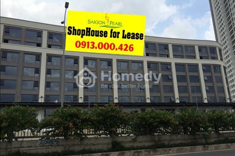 Cho thuê Shophouse - Saigon Pearl, Nguyễn Hữu Cảnh, Q.Bình Thạnh