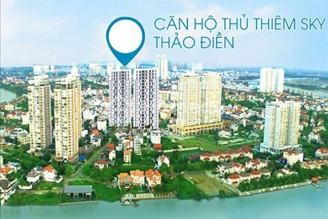 Suất nội bộ căn hộ giá tốt nhất phường Thảo Điền quận 2, 2 PN. Nhà hoàn thiện vào ở ngay