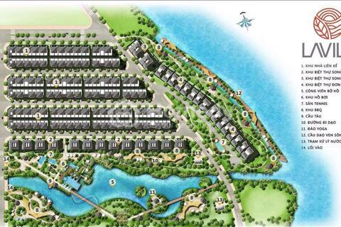 Nhà phố biệt lập ven sông, giá gốc chủ đầu tư Kiến Á