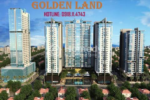 Bán căn Duplex cc Golden Land giá chỉ 28,5 tr/m2 . Thanh toán 30% nhận nhà ngay. Hỗ trợ ls 0%/2 năm