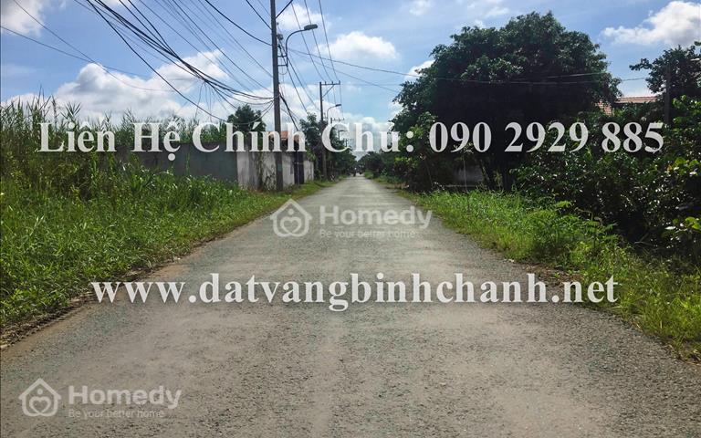 Cần bán gấp 1.200m2 đất mặt tiền đường Bà Cả, xã Đa Phước huyện Bình Chánh với gía cực rẻ