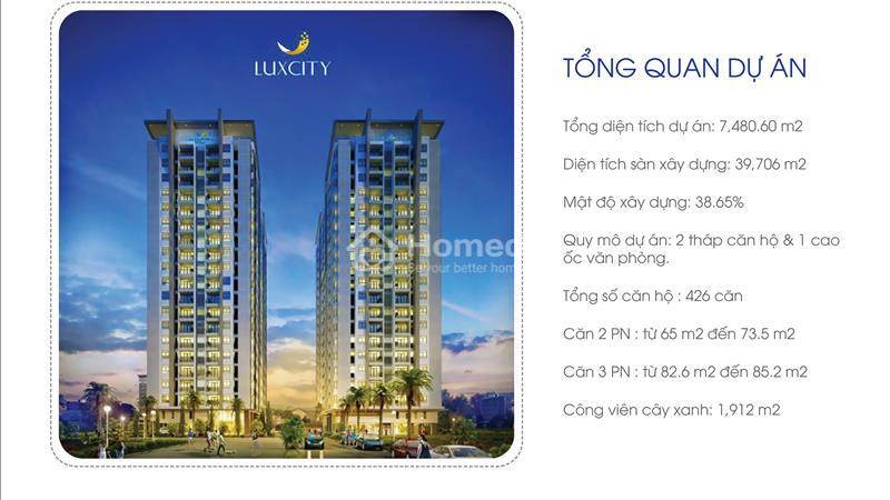 Cần bán gấp căn hộ Luxcity giá thấp hơn chủ đầu tư, 2 phòng ngủ 71 m2 chỉ 1,9 tỷ tặng gói nội thất - 2