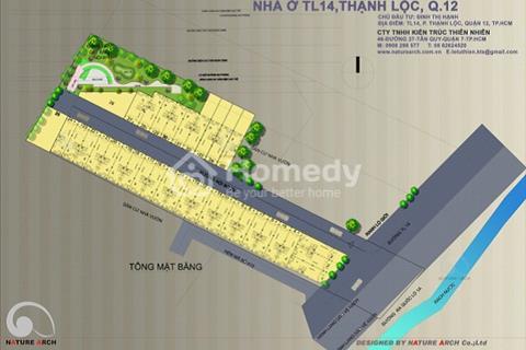 Đất nền Thạnh Lộc quận 12 chỉ 540tr nhận ngay giấy phép xây dựng