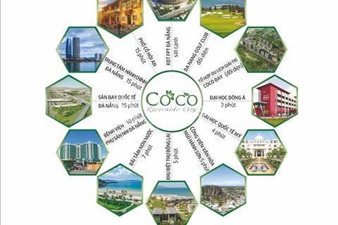 Coco Riverside City - Khu đô thị nghỉ dưỡng ven biển Đà Nẵng, view sông Cổ Cò