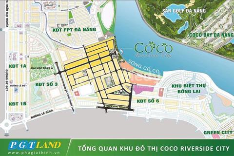 Khu đô thị nghỉ dưỡng mới nhất ven sông cổ cò - Liền kề FPT, Coco Bay - Giá chỉ 175 triệu/nền