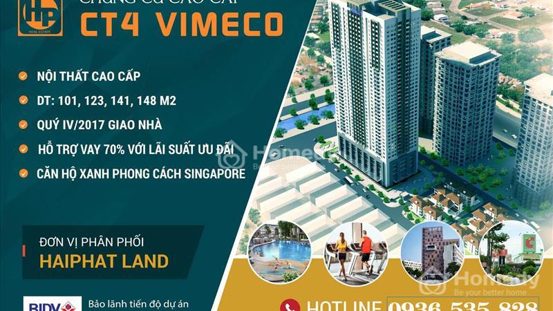 Bán sàn thương mại đẹp nhất phố Trung Hòa chung cư CT4 Vimeco - Cạnh Big C Thăng Long giá rẻ - 1