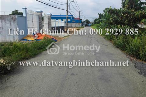 Kẹt tiền, bán gấp 410m2 đất mặt tiền đường Hóc Hưu, xã Quy Đức, huyện Bình Chánh với gía cực rẻ