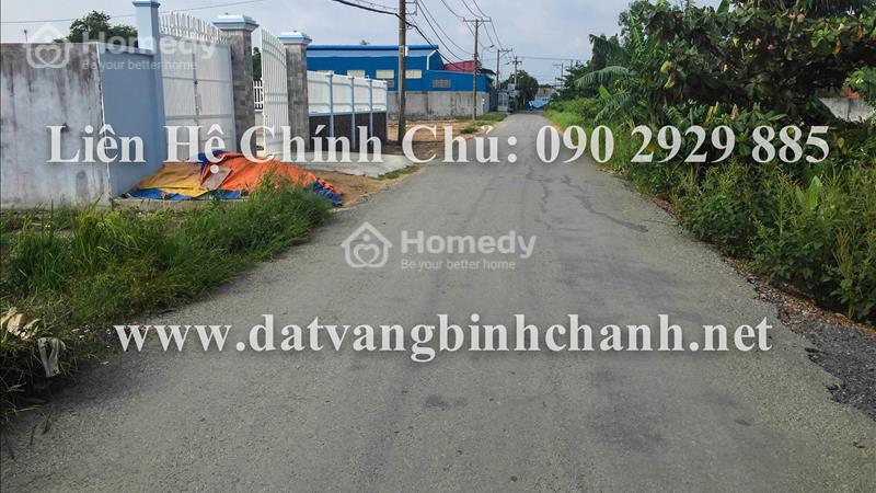 Kẹt tiền, bán gấp 410m2 đất mặt tiền đường Hóc Hưu, xã Quy Đức, huyện Bình Chánh với gía cực rẻ - 1