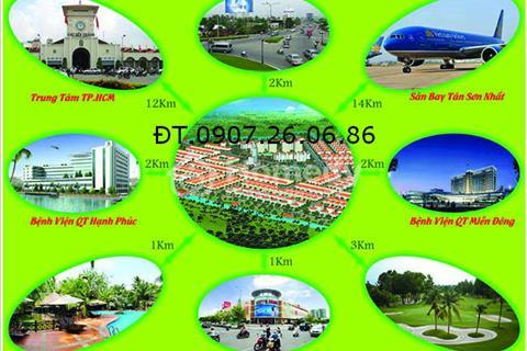 Cần bán lô đất biệt thự 10 x 23m KDC Vĩnh Phú 1 giáp ranh với Thủ Đức TP. HCM