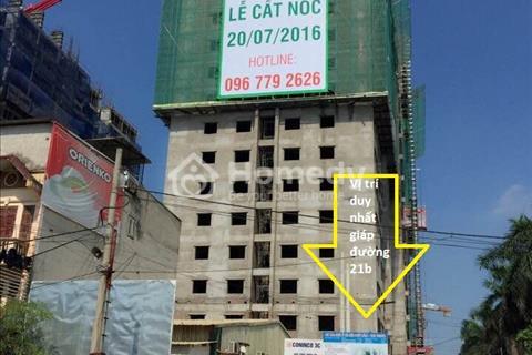 Bán căn hộ V3 Prime, tòa thương mại chất lượng cao Phú Lãm, Hà Đông.