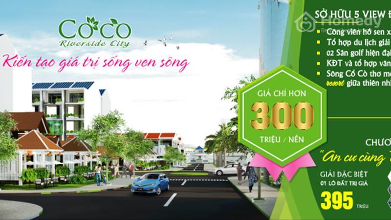 Sắp mở bán khu đô thị nghỉ dưỡng '' Coco Riverside City'' gần biển, view sông - 1