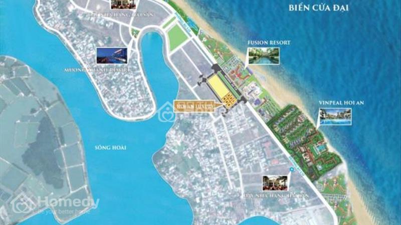 Bán đất mặt tiền chính chủ trung tâm phố cổ Hội An, giá 3.36 tỷ - 1