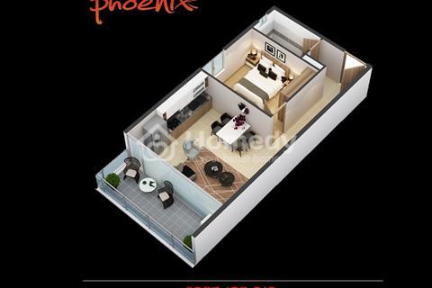 Căn hộ DIC Phoenix Vũng Tàu, chiết khấu lên tới 5%. Thanh toán trước 20% nhận nhà ngay